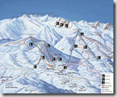 Borovets Ski lift map